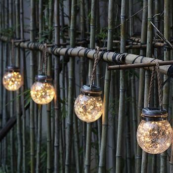 Obrázek z Solární zahradní lampička