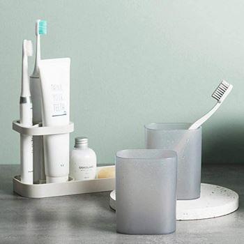 Obrázek z Držák na zubní kartáčky a kelímky