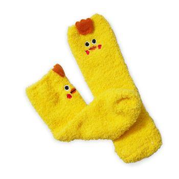 Obrázek Teplé ponožky - kuřátko