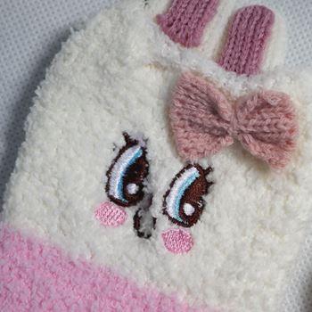 Obrázek z Teplé ponožky - zajíček