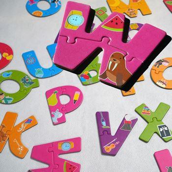 Obrázek Puzzle pro nejmenší - písmena