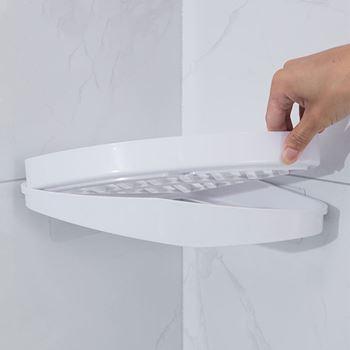 Obrázek z Rohová polička do sprchy