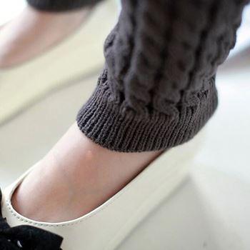 Obrázek z Hřejivé návleky na nohy - černé