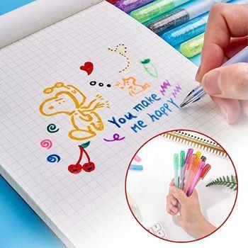 Obrázek 3D gelové pero 6 ks