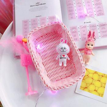 Obrázek Plastový košík - růžový