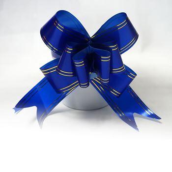 Obrázek Dárková mašle 10 ks - modrá