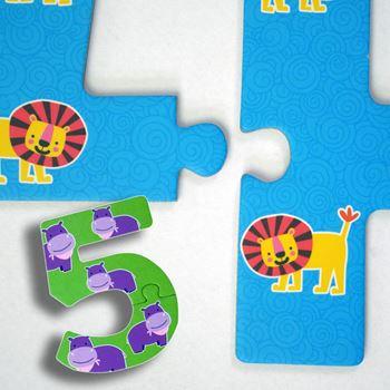 Obrázek Puzzle pro nejmenší - čísla