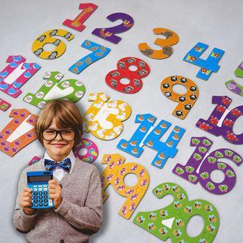 Obrázek z Puzzle pro nejmenší - čísla
