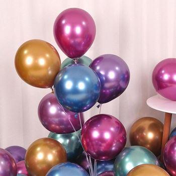 Obrázek Metalické balónky 50 ks