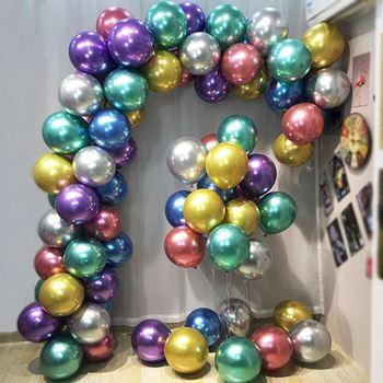 Obrázek z Metalické balónky 50 ks