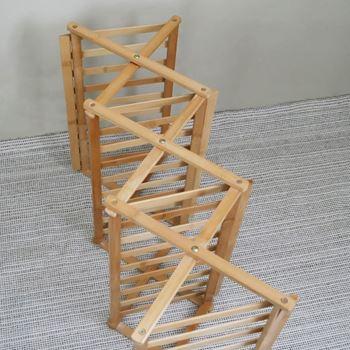 Obrázek z Dřevěný botník