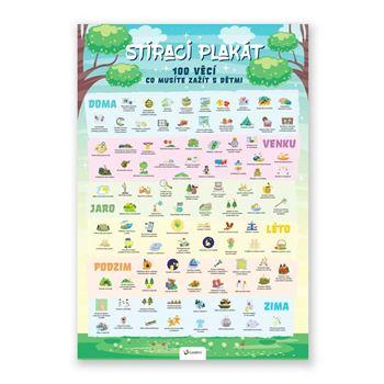 Obrázek Stírací plakát - 100 věcí co musíte zažít s dětmi