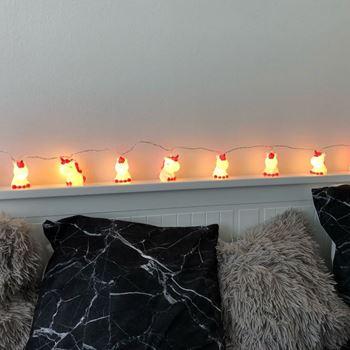 Obrázek Světelný řetěz - jednorožci