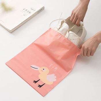 Obrázek Sada nepromokavých cestovních tašek - růžová